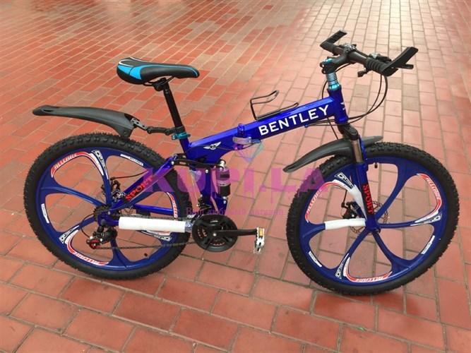 Складной велосипед BENTLEY на дисках