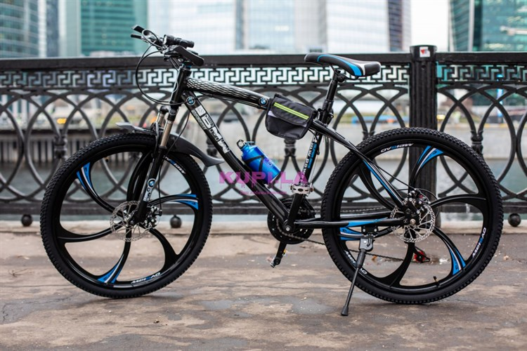 Велосипед на дисках BMW