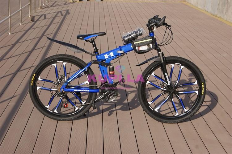 Велосипед Green Bike на дисках