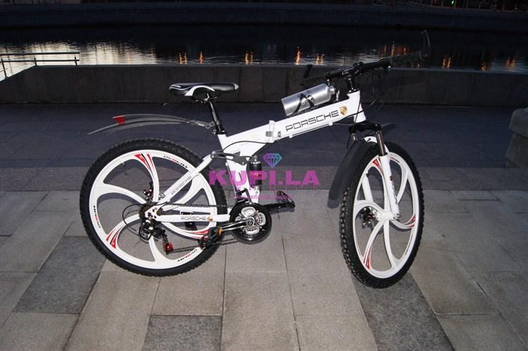 Складной велосипед на дисках