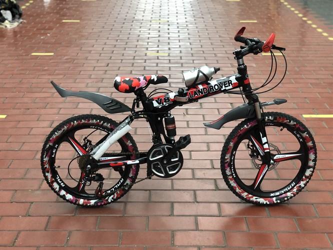Детский складной велосипед на литых дисках Land Rower