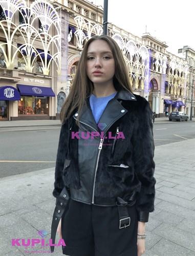 Куртка с мехом норки ЭКСКЛЮЗИВ