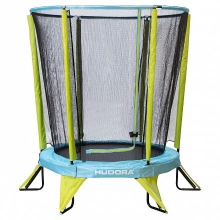 HUDORA Kindertrampolin Safety 140 с защитной сеткой
