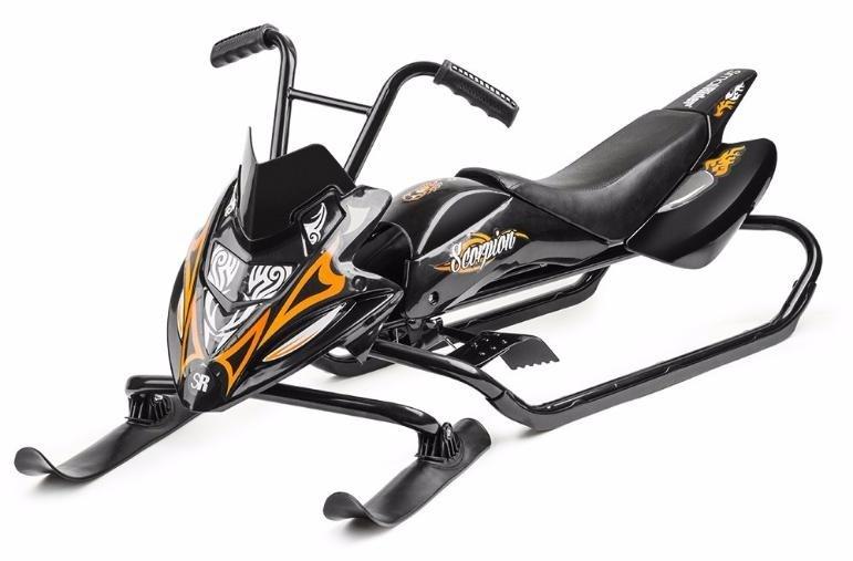 Снегокат Small Rider Scorpion (черный)