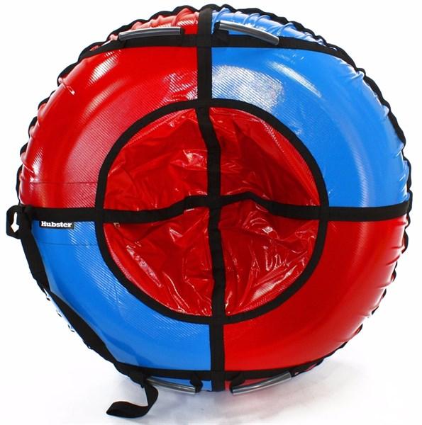 Тюбинг Hubster Sport Plus красный-синий