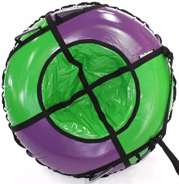 Тюбинг Hubster Sport Plus фиолетовый-зеленый