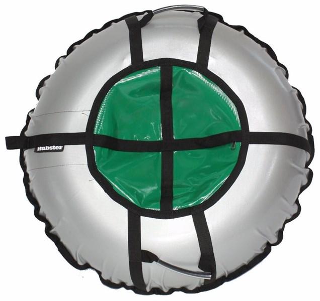 Тюбинг Hubster Ринг Pro серый-зеленый
