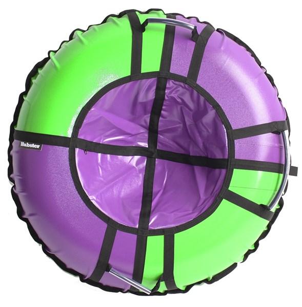 Тюбинг Hubster Sport Pro фиолетовый-зеленый