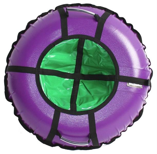 Тюбинг Hubster Ринг Pro фиолетовый-зеленый