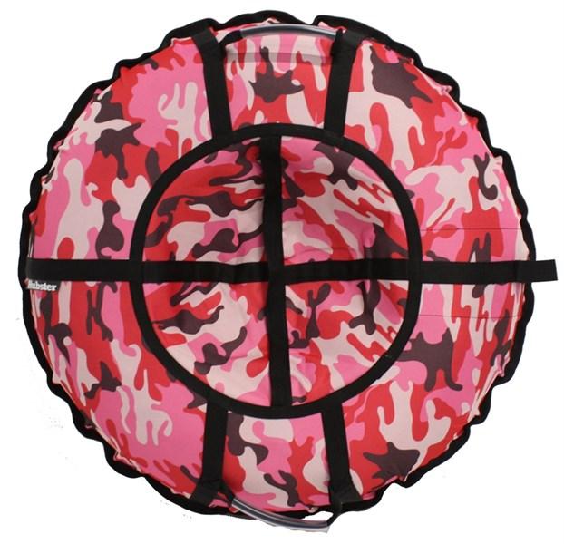 Тюбинг Hubster Люкс Pro Камуфляж розовый