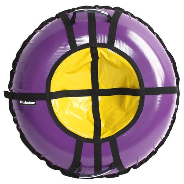 Тюбинг Hubster Ринг Pro фиолетовый-желтый