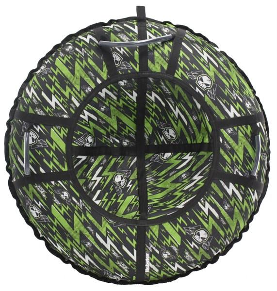Тюбинг Hubster Люкс Pro Молнии зеленые