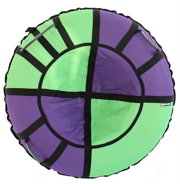 Тюбинг Hubster Хайп фиолетовый-салатовый