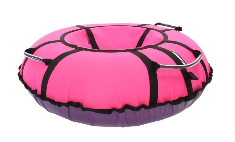 Тюбинг Hubster Хайп фиолетовый-розовый