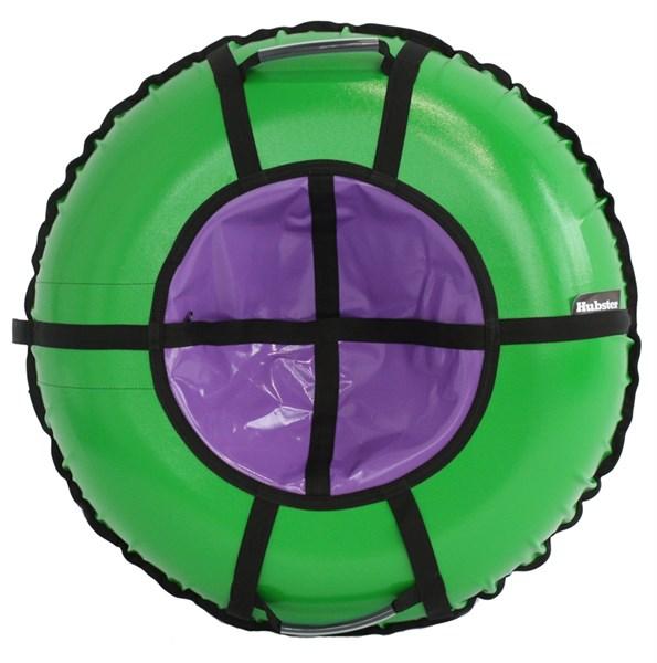 Тюбинг Hubster Ринг Pro зеленый-фиолетовый