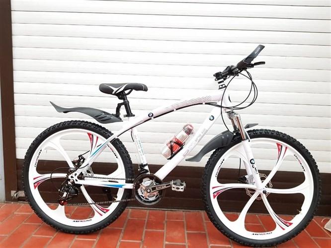 Велосипед BMW PRO на дисках белый