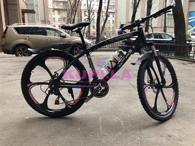 Велосипед BMW PRO на дисках черный