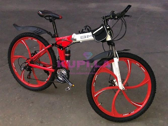 Складной велосипед BMW X-6 на дисках мультиколор